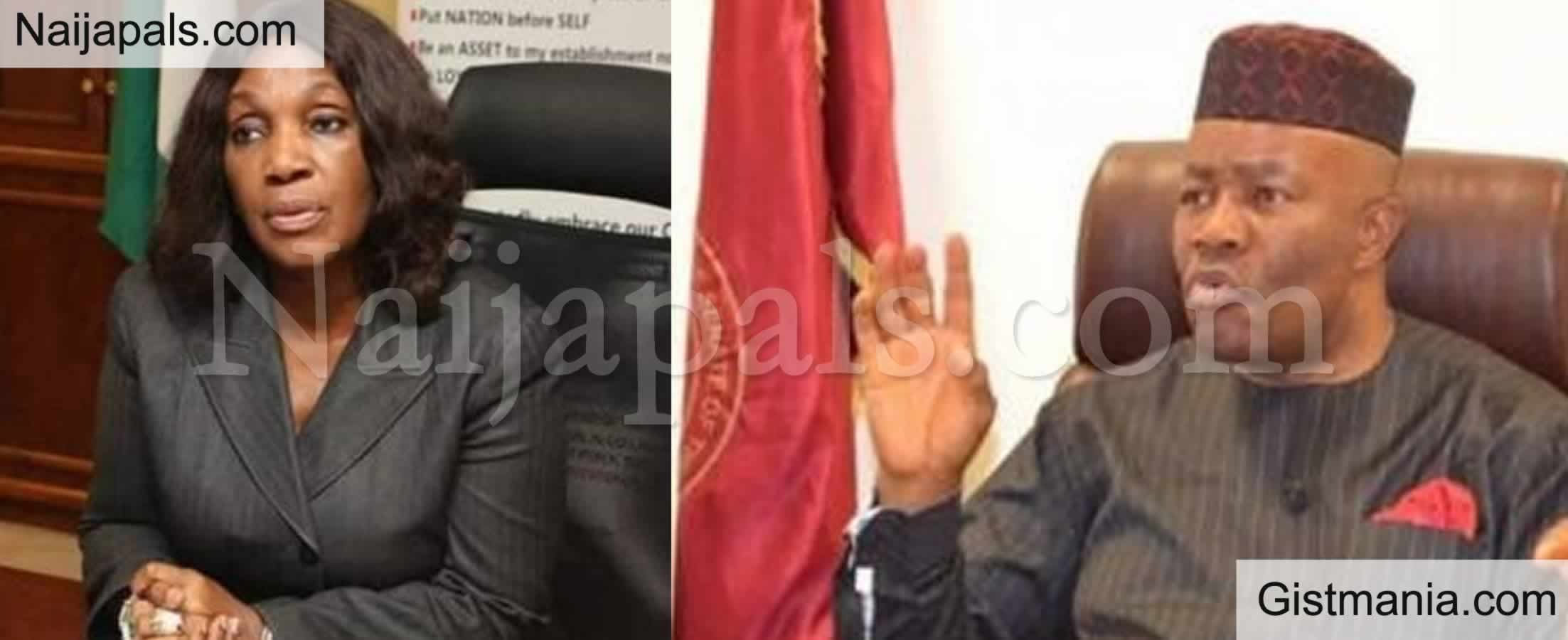 <img alt='.' class='lazyload' data-src='https://img.gistmania.com/emot/video.gif' /> She Has Character Problem - <b>Minister, Akpabio Reacts to Dr. Joi Nunieh's Allegations</b> (Video)