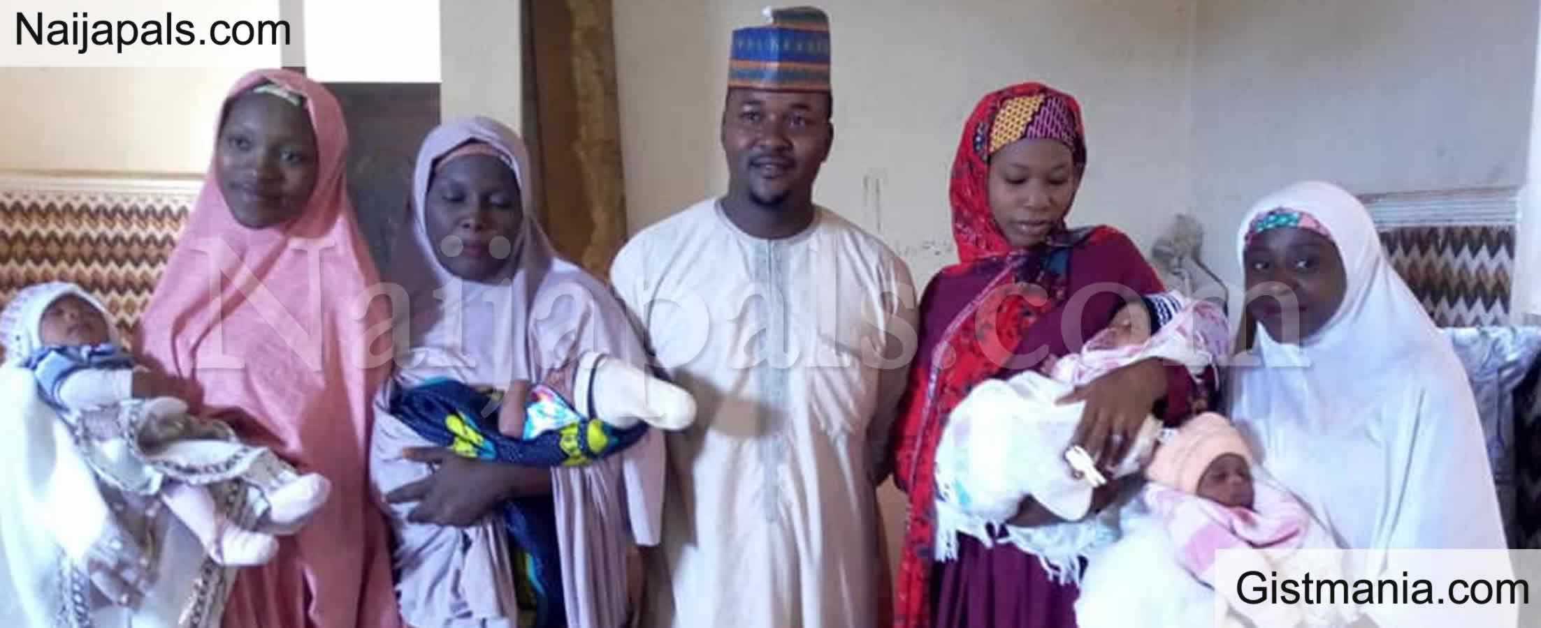 <img alt='.' class='lazyload' data-src='https://img.gistmania.com/emot/shocked.gif' /> <b>Meet 36yr Old Nura Magaji, A Bauchi Carpenter & Father of 13 Children Who Desires to Have More</b>