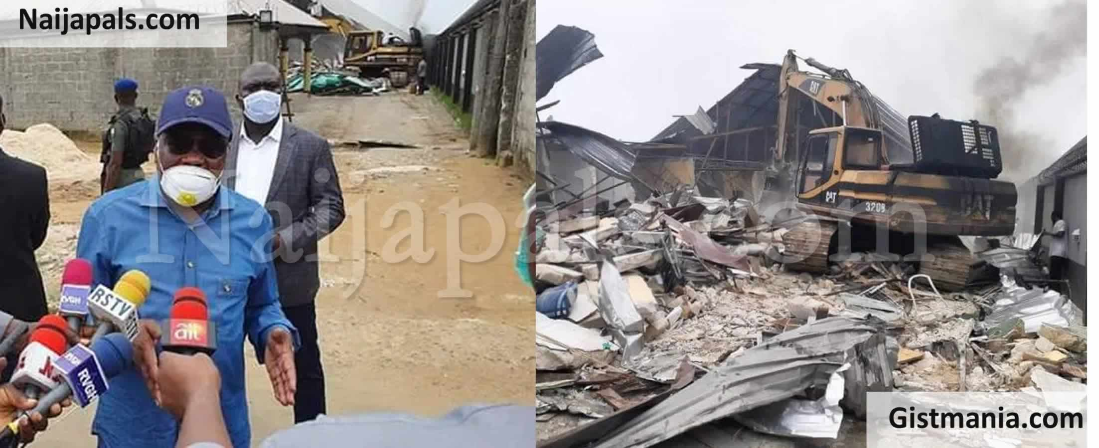 <img alt='.' class='lazyload' data-src='https://img.gistmania.com/emot/news.gif' /> <b>Hoodlums Detonate Explosives In River State Governor, Nyesom Wike Father's Church</b>