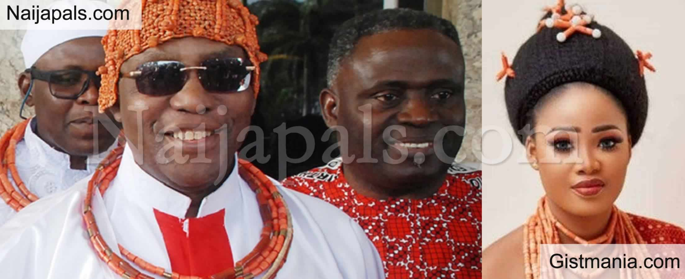 <img alt='.' class='lazyload' data-src='https://img.gistmania.com/emot/dance.gif' /> <b>Oba of Benin, Oba Ewuare Announces The Birth of His Princess With Queen Owamagbe</b>