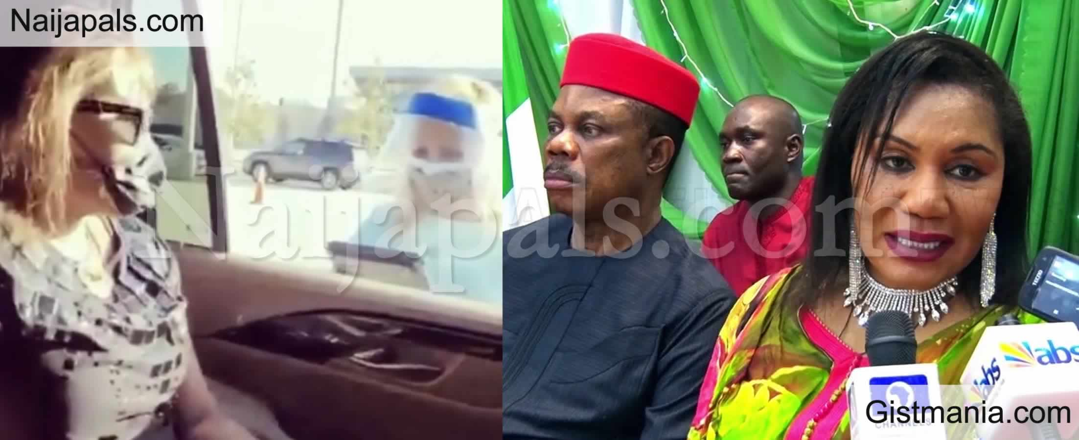 <img alt='.' class='lazyload' data-src='https://img.gistmania.com/emot/video.gif' /> <b>Anambra First Lady, Mrs Obiano Flies to The US to Get COVID-19 Vaccine Shot</b> (Video)