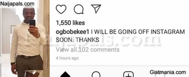 Photo: Ex Footballer, Ogbonna Kanu Announces He Will Be