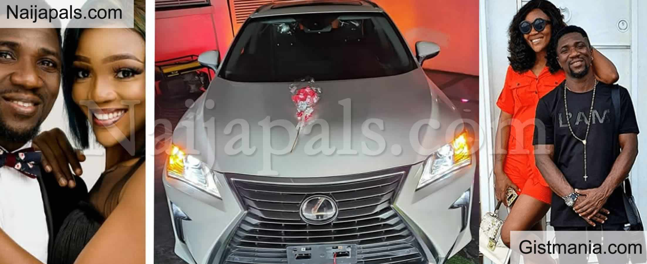 <img alt='.' class='lazyload' data-src='https://img.gistmania.com/emot/love.gif' /> <b>Nigerian Comedian Ogusbaba Surprises His Wife With a Lexus SUV</b> (Photos)