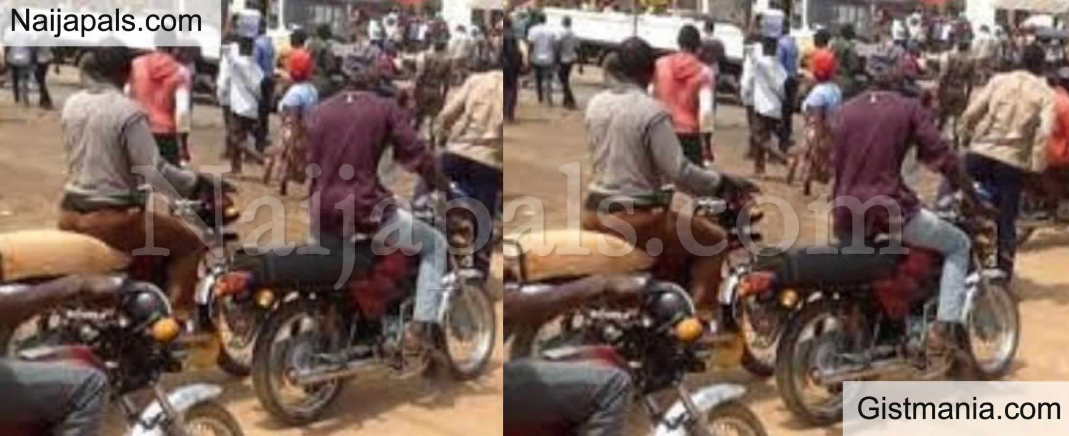 <img alt='.' class='lazyload' data-src='https://img.gistmania.com/emot/shocked.gif' /> <b>Tension Heightened After Seven Lives Lost As Okada Riders Clash Over Levy In Ogun State</b>