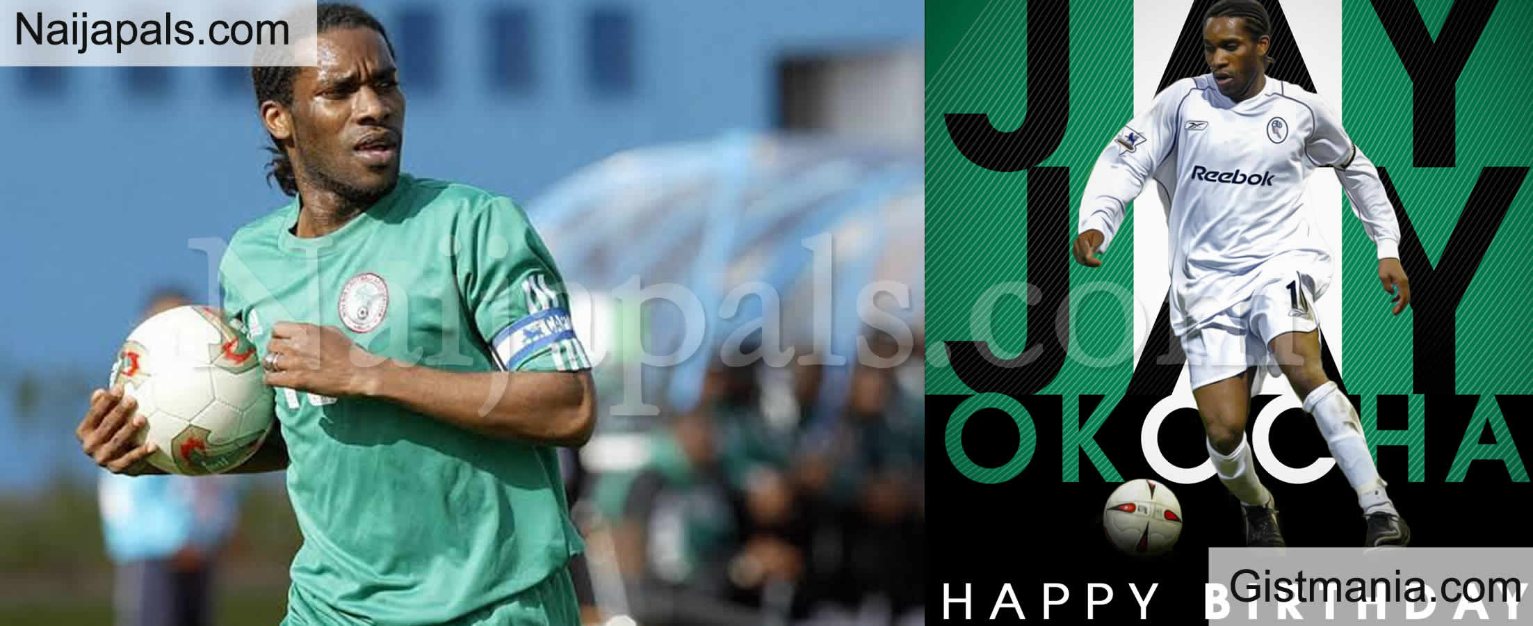 <img alt='.' class='lazyload' data-src='https://img.gistmania.com/emot/cake.png' /> <b>Football Legend, JJ Okocha Celebrated By NFF, CAF, FIFA As He Turns 47 </b>