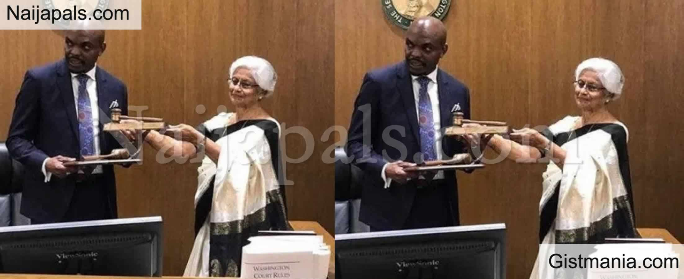 <img alt='.' class='lazyload' data-src='https://img.gistmania.com/emot/comment.gif' /> <b>Delta State Born Nigerian, Okoloko, Sworn In As Washington Judge</b>
