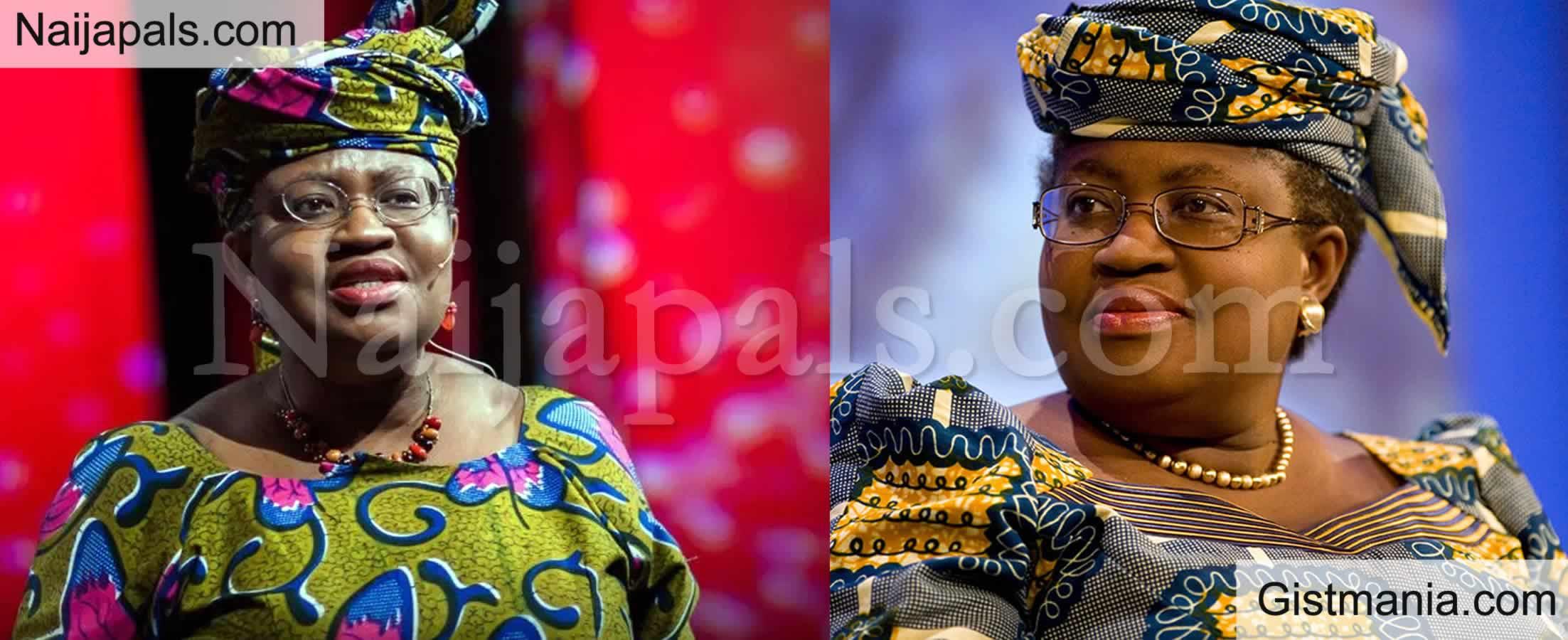 <img alt='.' class='lazyload' data-src='https://img.gistmania.com/emot/comment.gif' /> <b>Fani Kayode, Dino Melaye & Oby Ezekwesilli Congratulate Okonjo Iweala As She Emerges WTO DG</b>