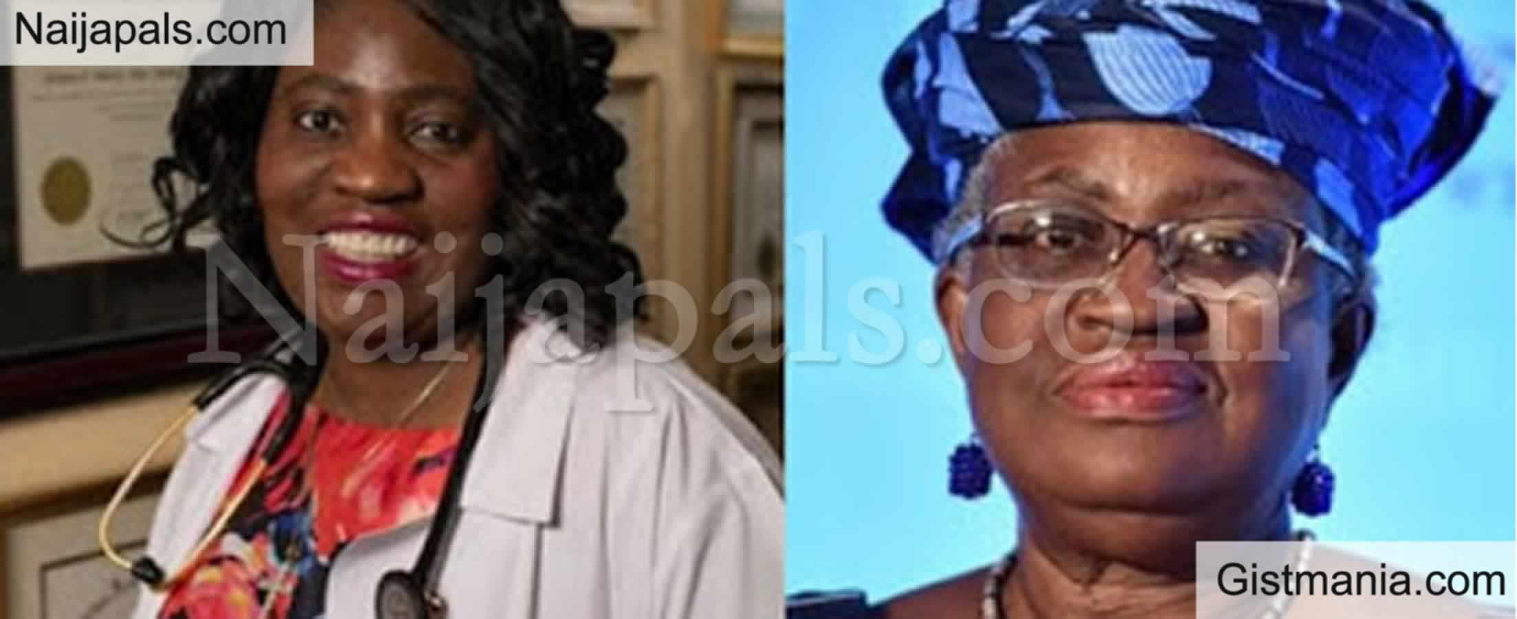 <img alt='.' class='lazyload' data-src='https://img.gistmania.com/emot/thumbs_up.gif' /> <b>Okonjo-Iweala's Sister Wins Family Doctor Of The Year Award In Maryland USA</b>