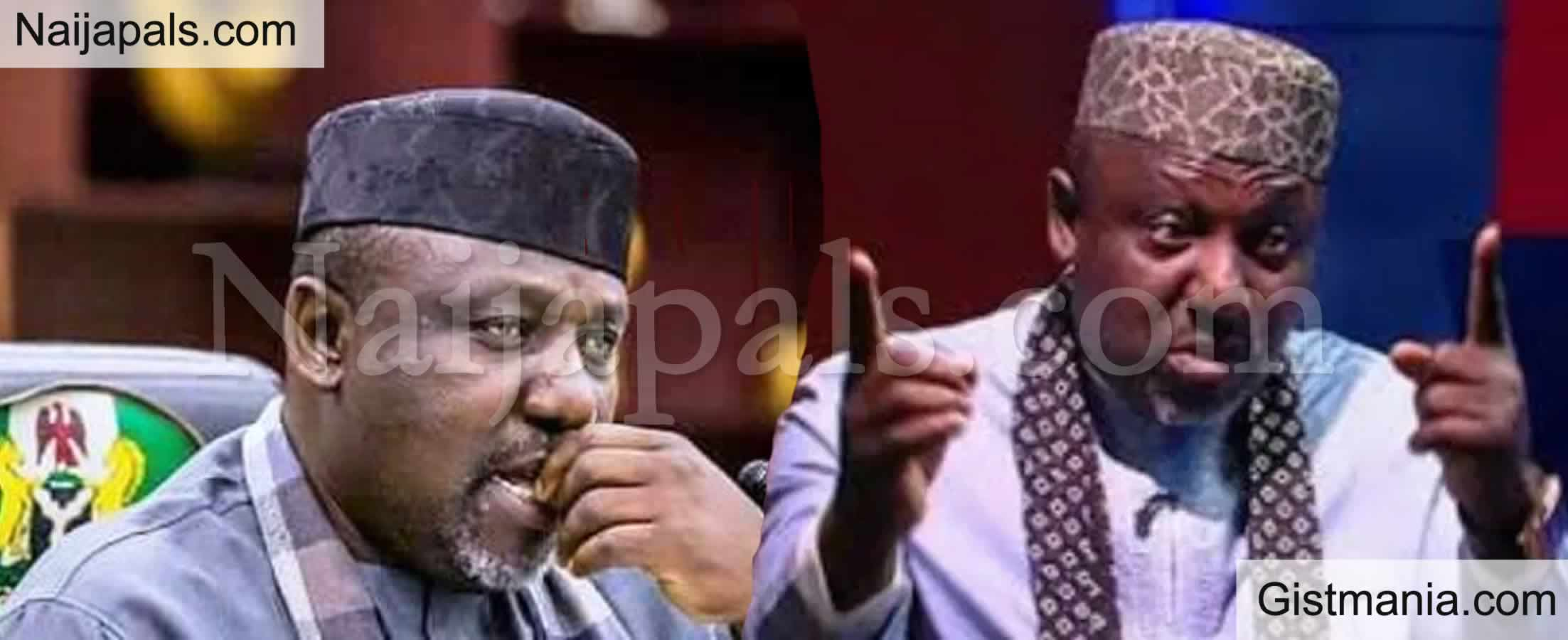 <img alt='.' class='lazyload' data-src='https://img.gistmania.com/emot/comment.gif' /> <b>Rochas Okorocha Reacts To APC's Loss, Says Edo People Voted Against Injustice</b>