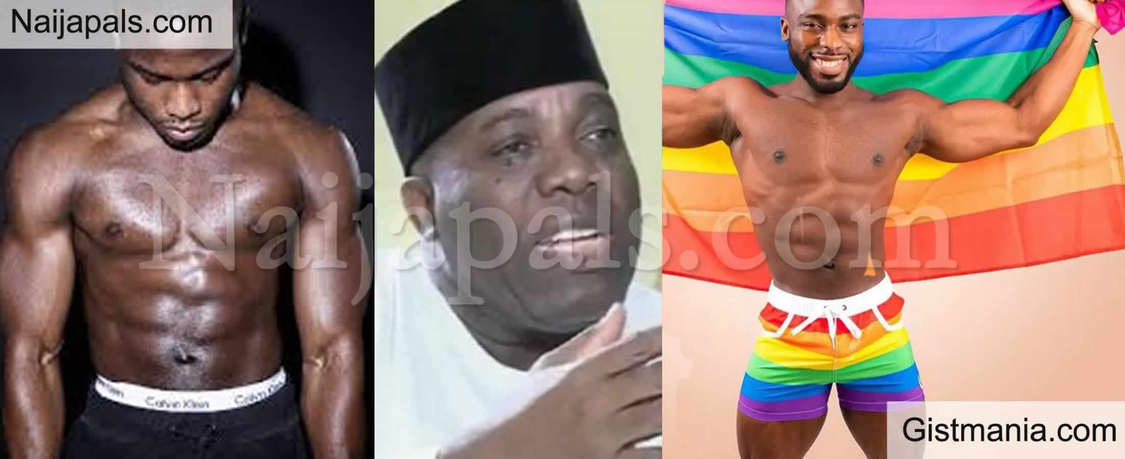 <img alt='.' class='lazyload' data-src='https://img.gistmania.com/emot/comment.gif' /> <b>Doyin Okupe's Son, Bolu Okpupe Comes Out As Gay</b>