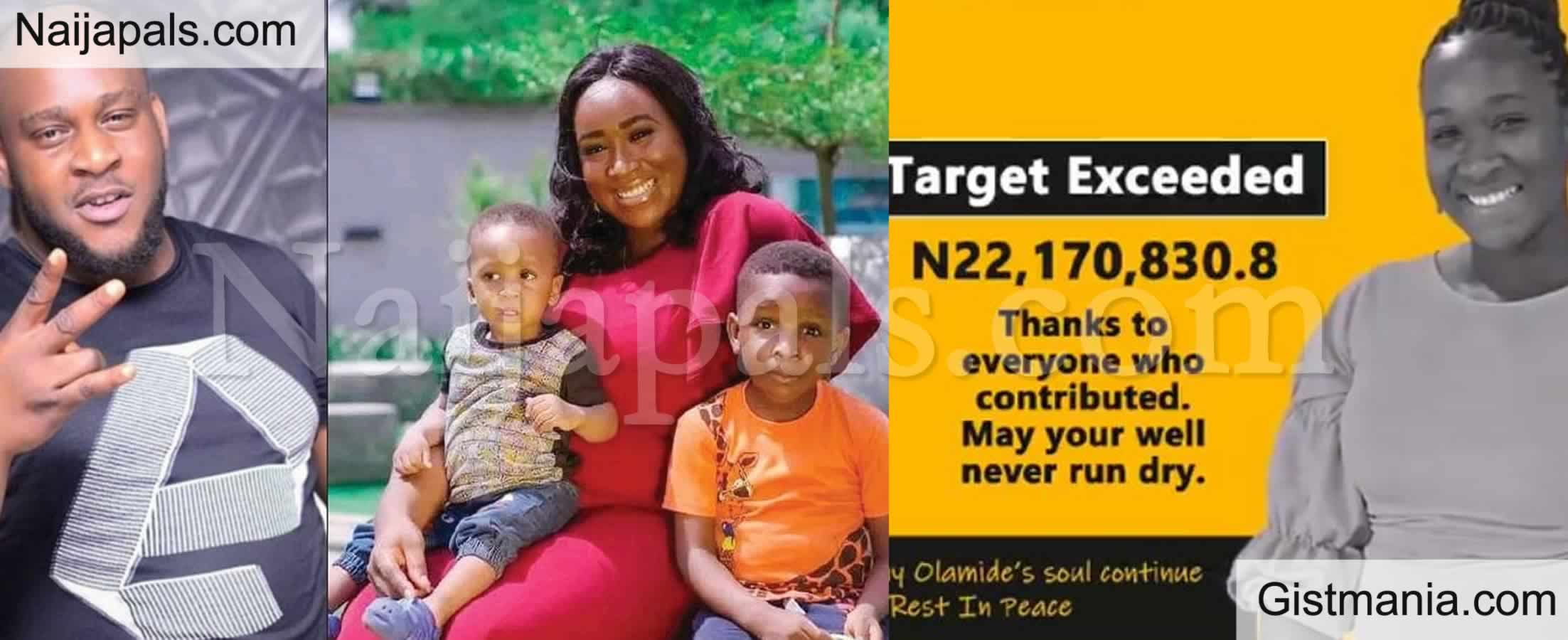 <img alt='.' class='lazyload' data-src='https://img.gistmania.com/emot/comment.gif' /> <b>Slain Olamide Alli's Children Get N22Million Cash Donations From Kind-Hearted Nigerians</b>
