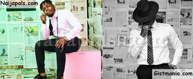 BADOO! Music Star Olamide Releases New Photo To Celebrate