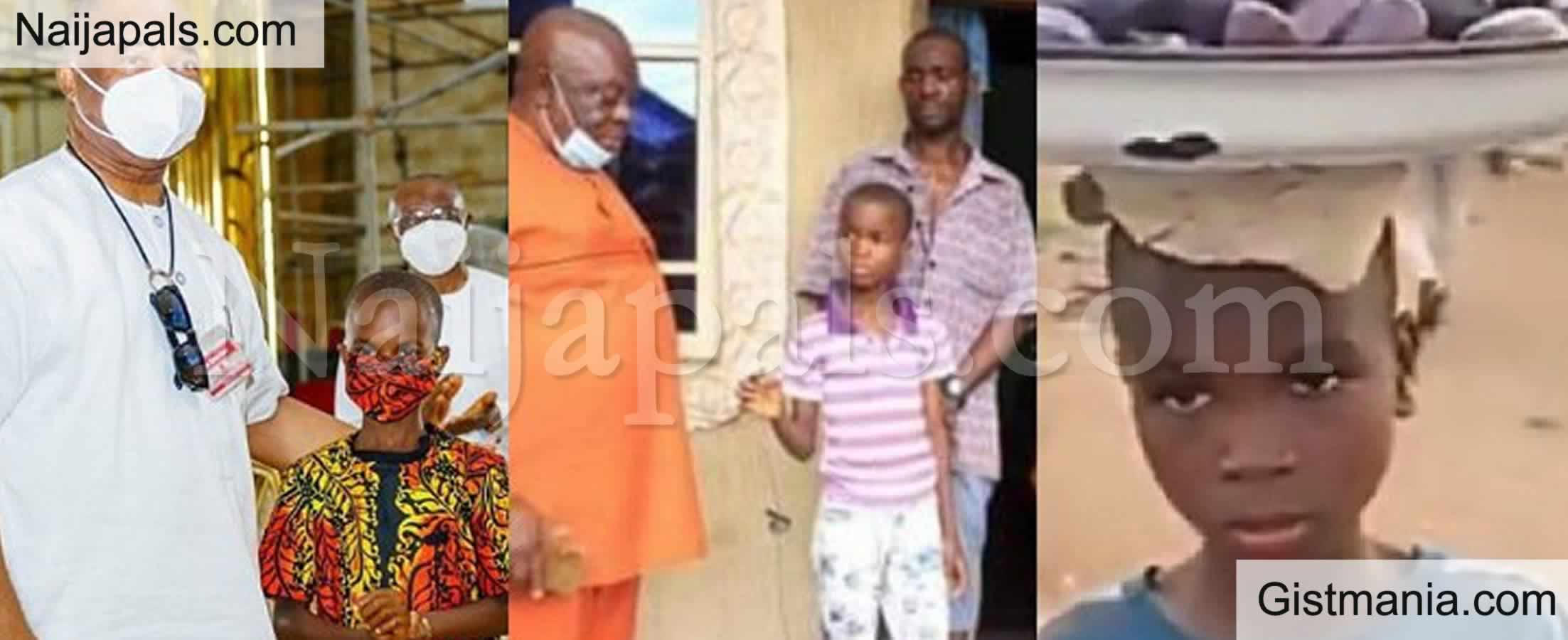 <img alt='.' class='lazyload' data-src='https://img.gistmania.com/emot/photo.png' /> <b>Imo State Governor, Hope Uzodimma Goes To Church With Oluomachi Opara, His Adopted Son</b> (Photos)