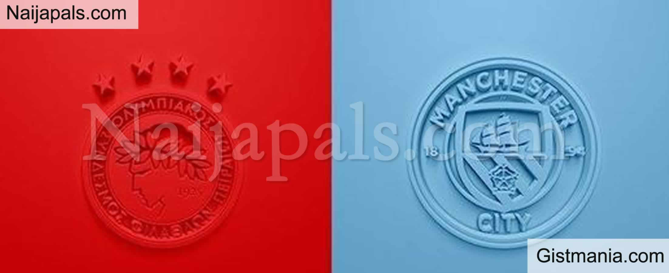 <img alt='.' class='lazyload' data-src='https://img.gistmania.com/emot/soccer.gif' /> <b>Olympiacos v Manchester City : UEFA Champions League Match, Team News, Goal Scorers and Stats</b>