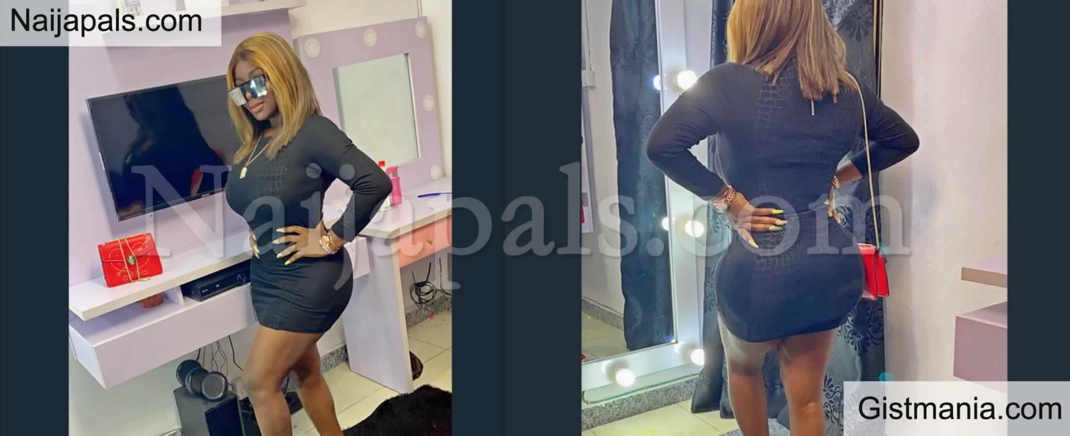 <img alt='.' class='lazyload' data-src='https://img.gistmania.com/emot/photo.png' /> <b>Omohtee Displays New Shape Of Her Behind After Wrong Cosmetic Surgery,Captions It My Yansh Is Healed</b>