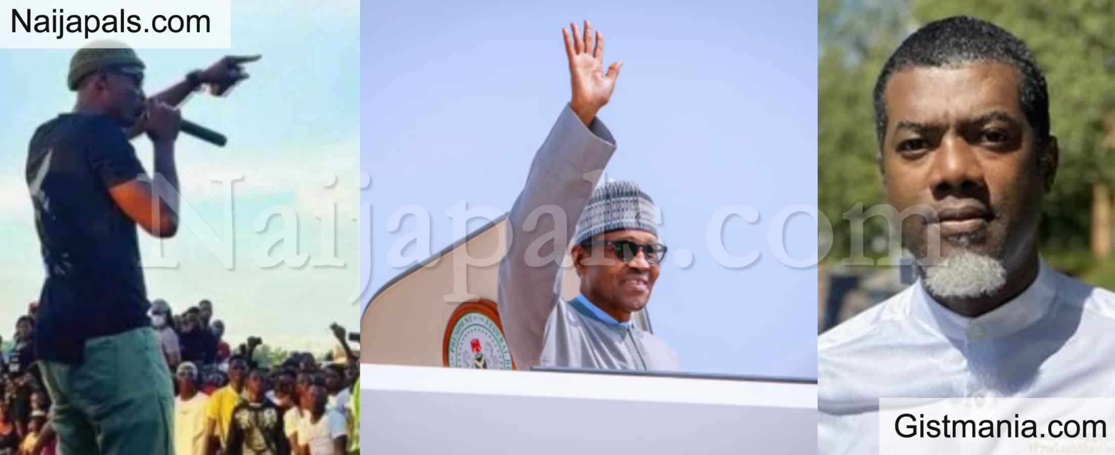 <img alt='.' class='lazyload' data-src='https://img.gistmania.com/emot/comment.gif' /> <b>Buhari Was Sick & Ran to London, Sound Sultan Was Sick But Joined EndSARS Protest</b> — Reno Omokri