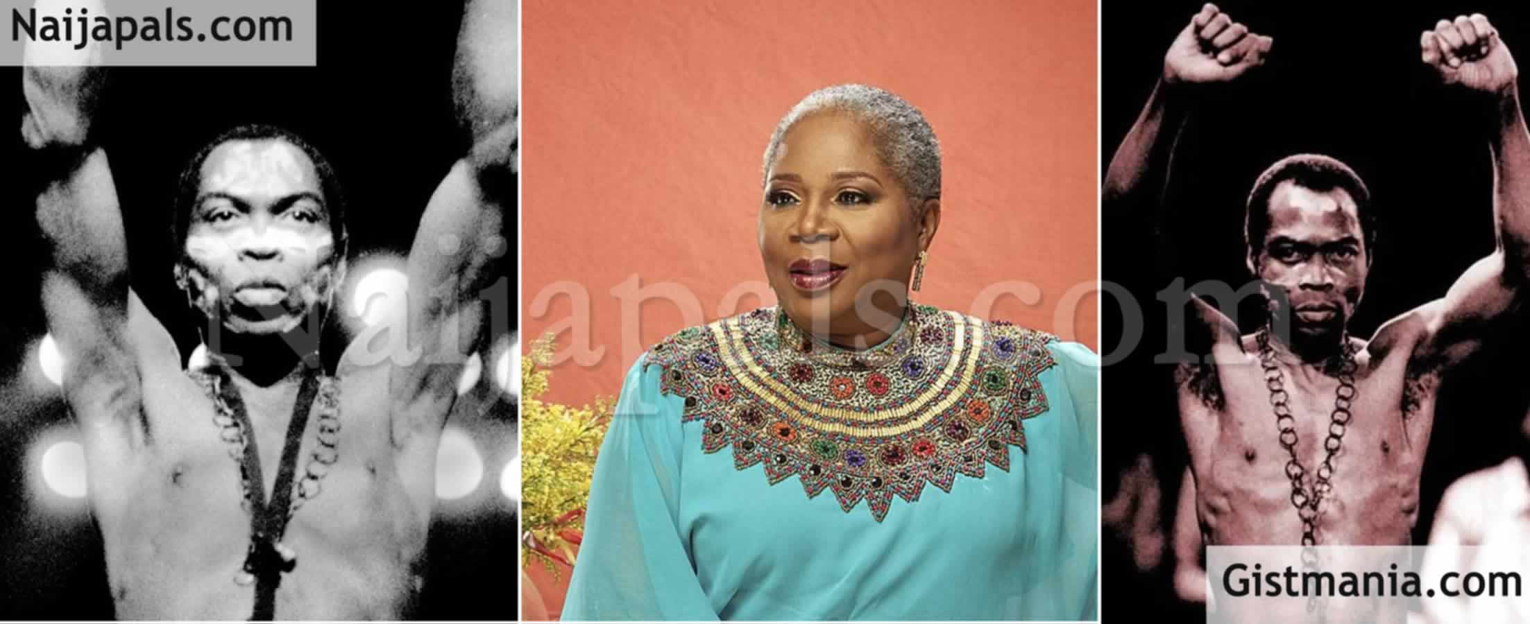 "<img alt='.' class='lazyload' data-src='https://img.gistmania.com/emot/comment.gif' /> <b>""Why I Rejected Fela's Marriage Proposal""</b> – Onyeka Onwenu"