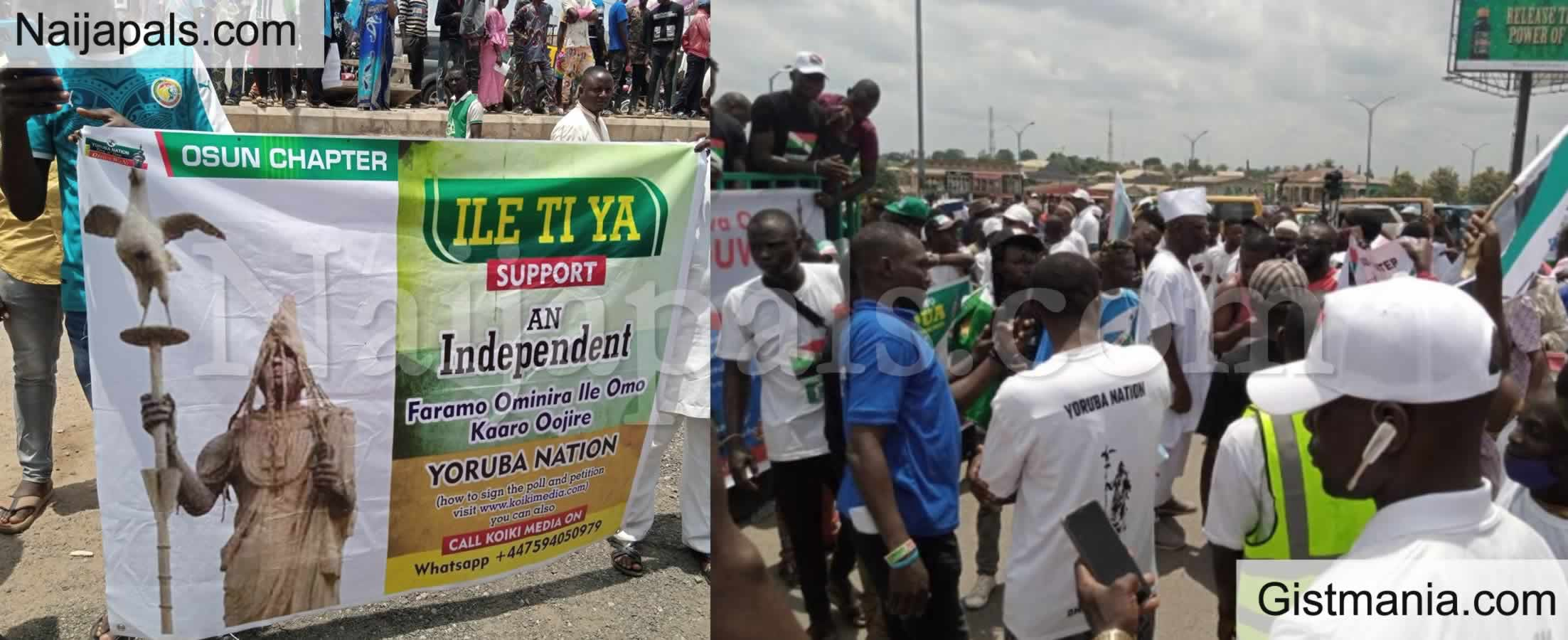 <img alt='.' class='lazyload' data-src='https://img.gistmania.com/emot/comment.gif' /> <b>Yoruba Nation Agitators Storm Osogbo With Massive Rally</b>
