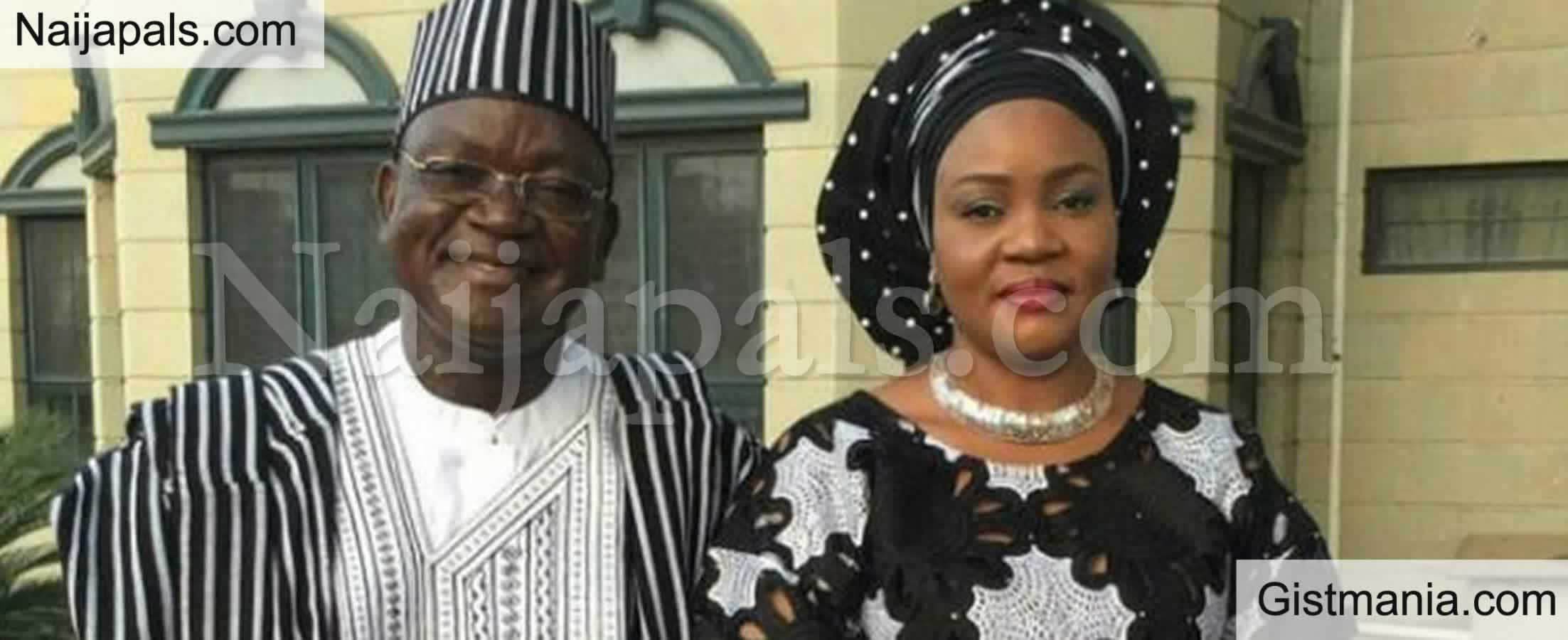 <img alt='.' class='lazyload' data-src='https://img.gistmania.com/emot/comment.gif' /> <b>Benue Governor Ortom's Wife, Eunice Ortom And Son Test Positive For Coronavirus</b>