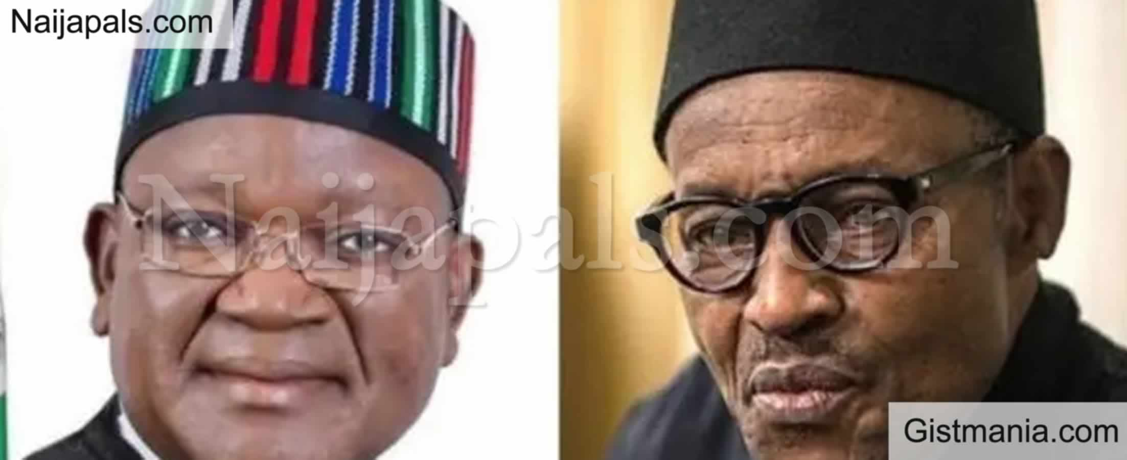 <img alt='.' class='lazyload' data-src='https://img.gistmania.com/emot/comment.gif' /> Just In:<b> I Will Never Shut Up, You've Failed</b> – Ortom to Buhari Govt
