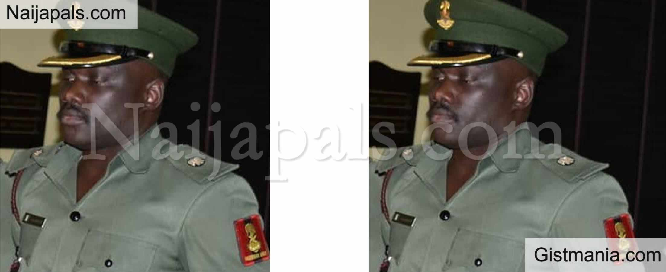 <img alt='.' class='lazyload' data-src='https://img.gistmania.com/emot/comment.gif' /> <b>Jailed Major, Akeem Oseni Files N2b Suit Against Nigeria Army & FCMB For Freezing His Account</b>