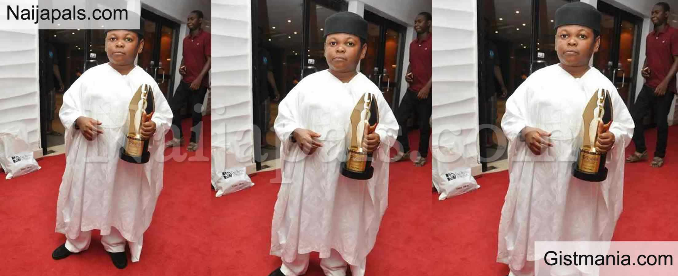 <img alt='.' class='lazyload' data-src='https://img.gistmania.com/emot/comment.gif' /> Photo: <b>Nigeria Actor, Osita Iheme 'Pawpaw' Receives Lifetime Achievement At AMAA Awards</b>