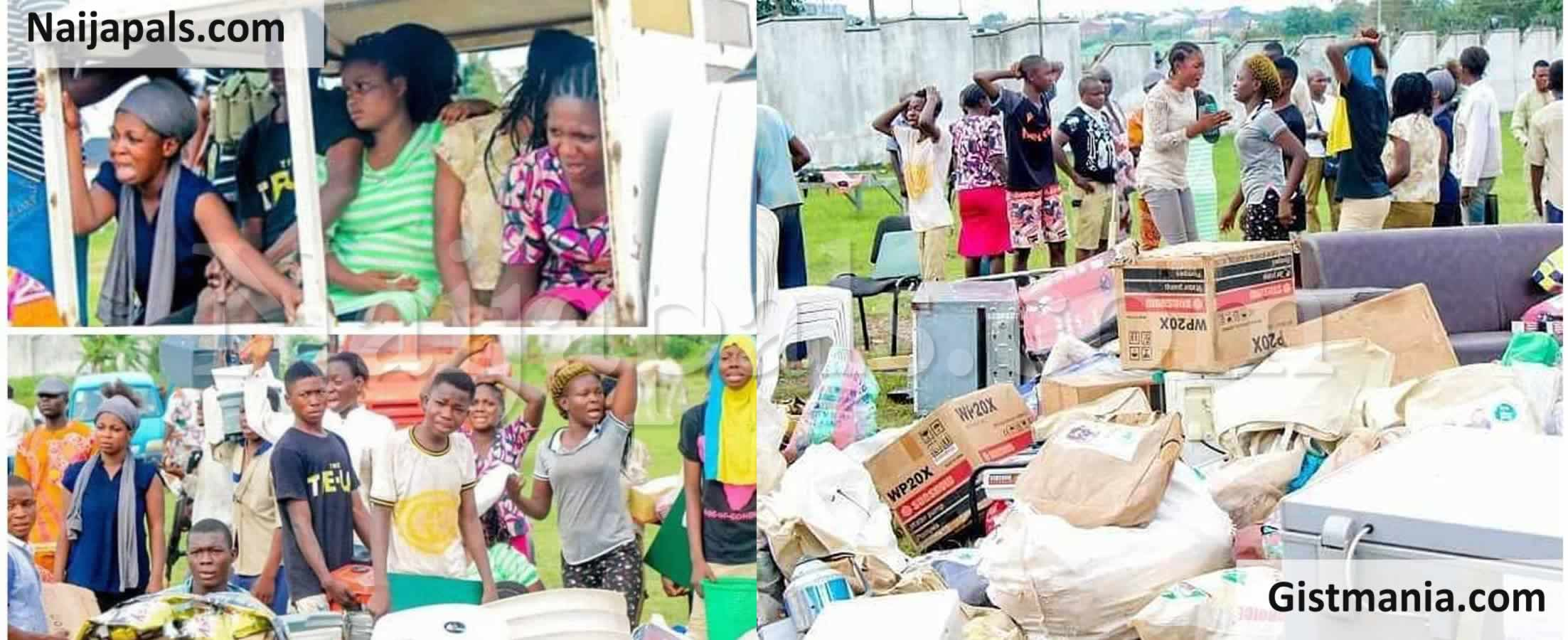 <img alt='.' class='lazyload' data-src='https://img.gistmania.com/emot/news.gif' /> <b>483 Looters Arrested Nationwide By Police As Search Intensify For #EndSARS Hijackers</b>