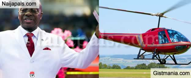 Bishop Oyedepo Buys New Helicopter Worth Over N2.5BN