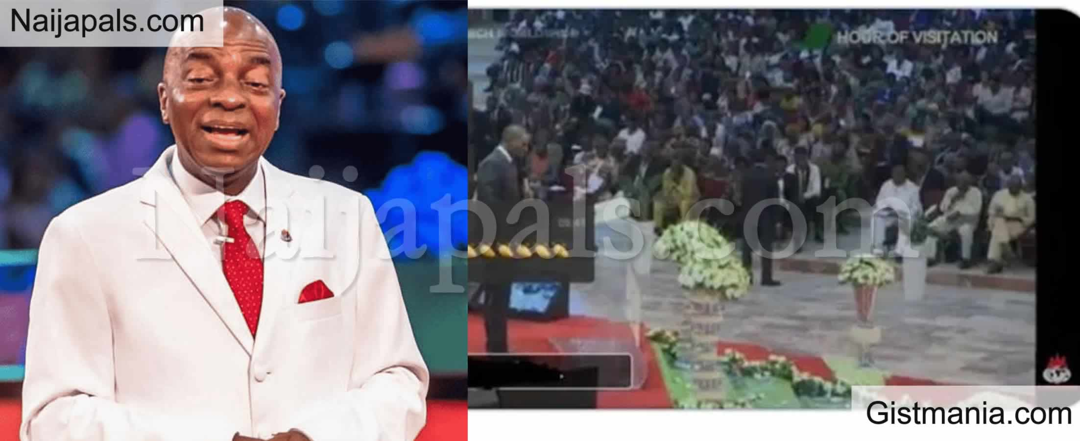 <img alt='.' class='lazyload' data-src='https://img.gistmania.com/emot/comment.gif' /> <b>Don't Take COVID-19 Vaccination</b> - Bishop Oyedepo Tells Winners Chapel Worshippers