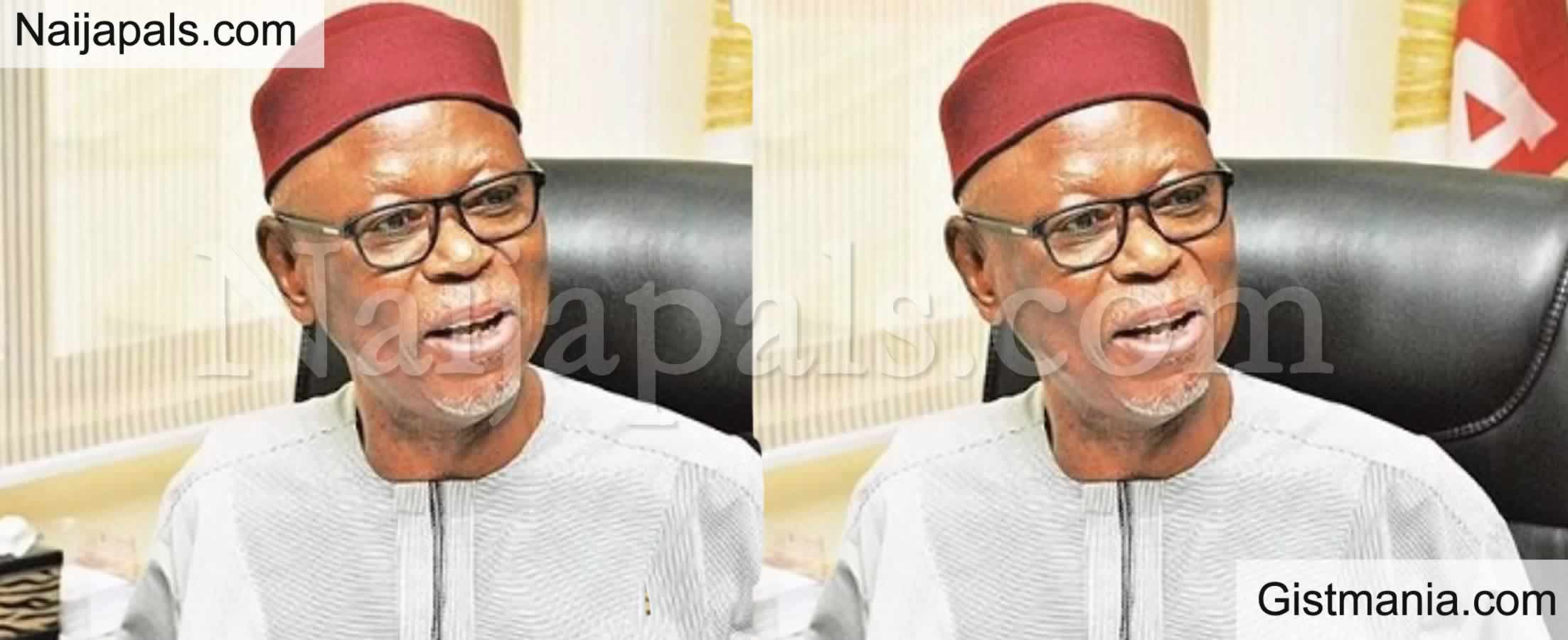 <img alt='.' class='lazyload' data-src='https://img.gistmania.com/emot/comment.gif' /> <b>I Can't Support Injustice! Oyegun Reveals Why He Didn't Campaign For APC In Edo Election</b>