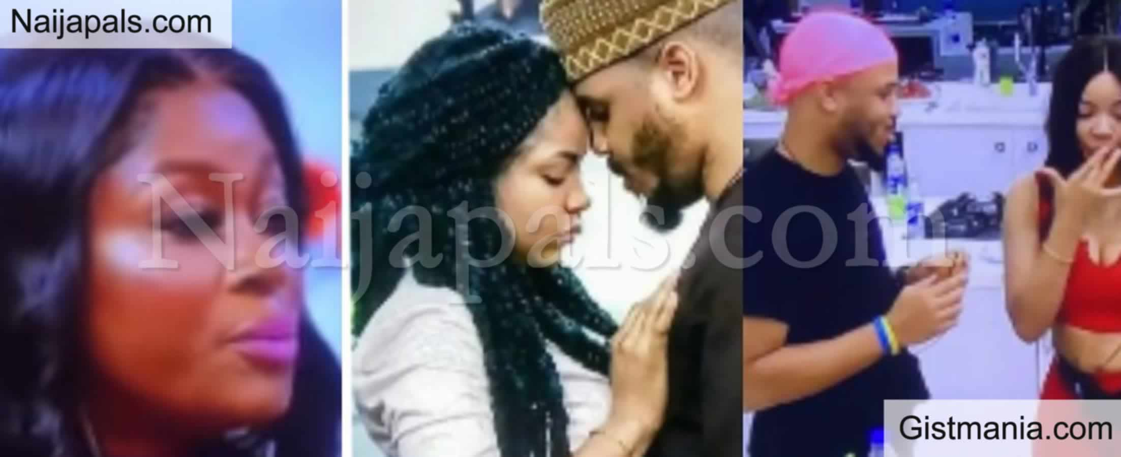 """<img alt='.' class='lazyload' data-src='https://img.gistmania.com/emot/video.gif' /> <b>""""You Were Never In Love With Nengi, You Used Her"""" – Ka3na Slams Ozo During BBN Reunion Show</b>"""