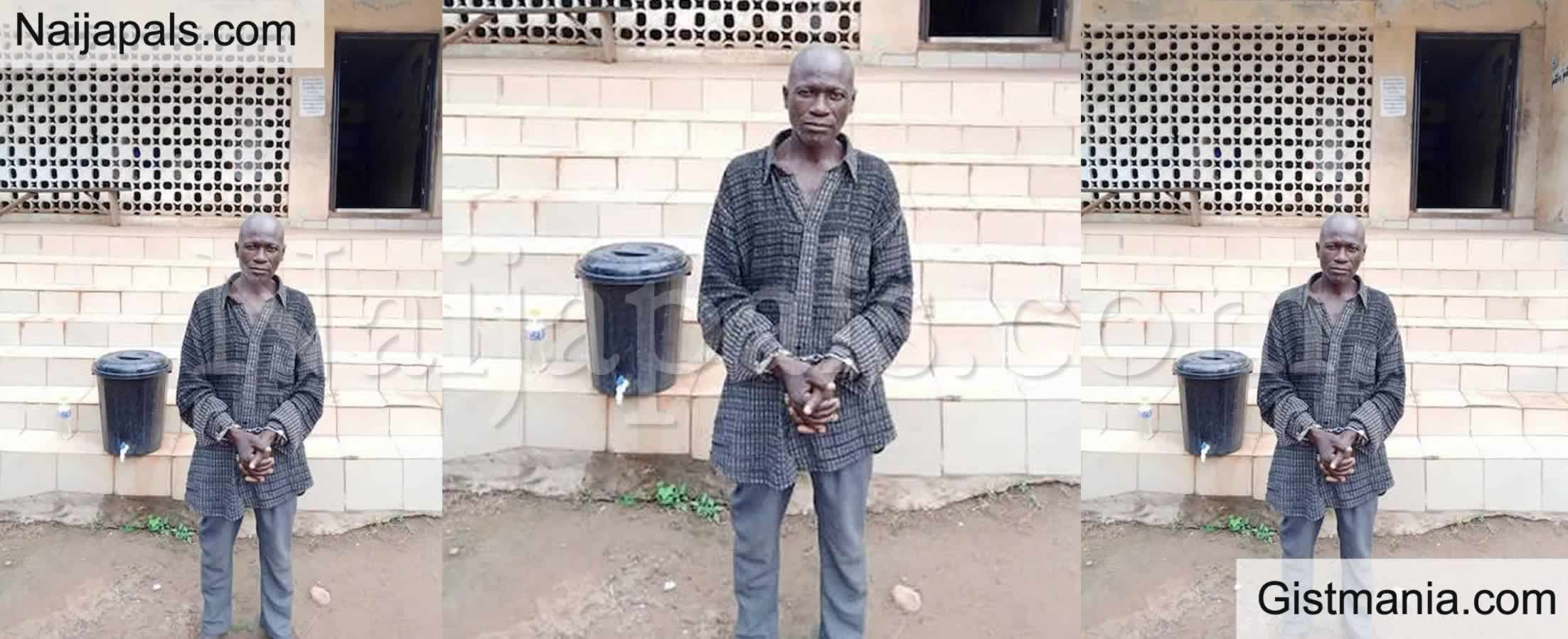<img alt='.' class='lazyload' data-src='https://img.gistmania.com/emot/shocked.gif' /> <b>Ogun State Police Apprehends Paedophile Pastor, Oketokun Abiodun For molesting 10 Year-Old Girl</b>