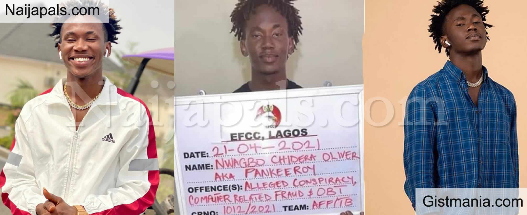 <img alt='.' class='lazyload' data-src='https://img.gistmania.com/emot/comment.gif' /> <b>Popular Instagram Comedian Pankeeroy, Lands in EFCC Net Over Alleged Bitcoin Scam</b>