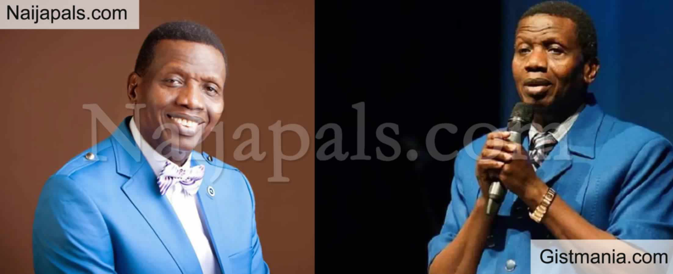 <img alt='.' class='lazyload' data-src='https://img.gistmania.com/emot/comment.gif' /> General Overseer Of RCCG,<b> Pastor Adeboye Speaks On His Son's Death</b> (VIDEO)