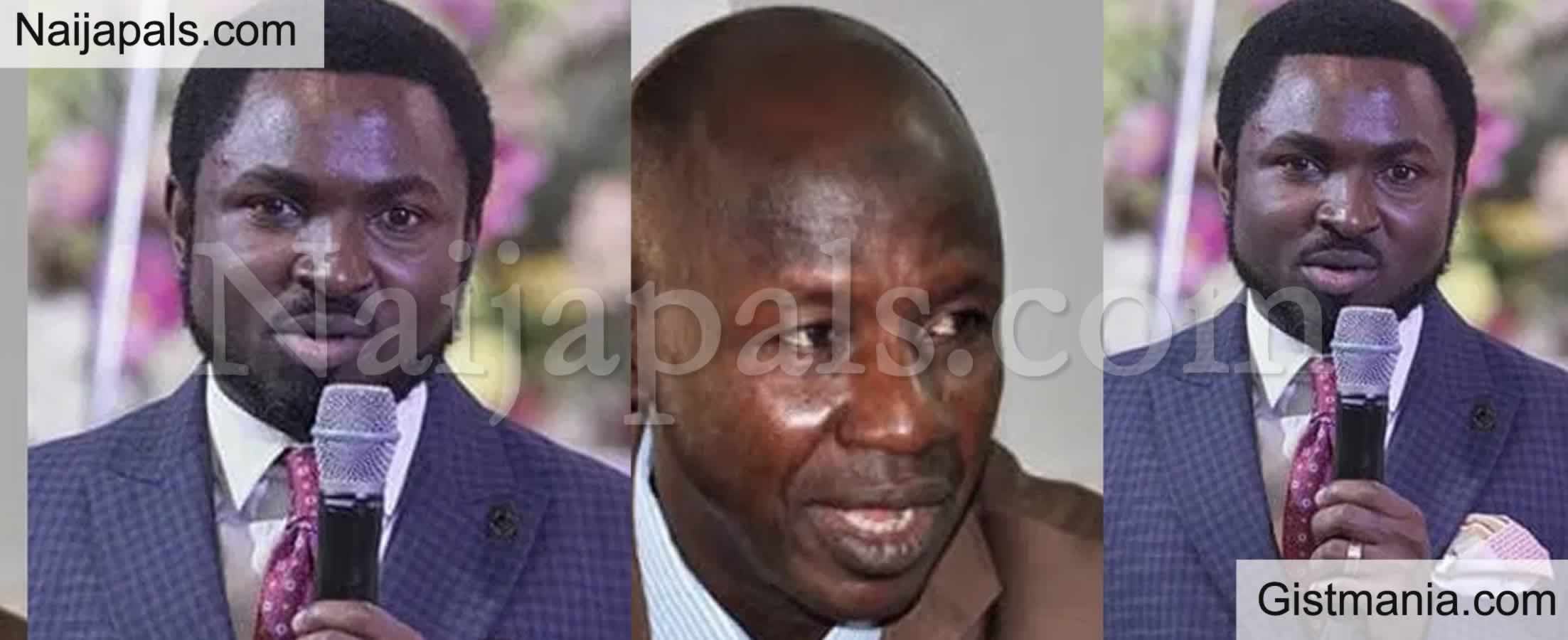 <img alt='.' class='lazyload' data-src='https://img.gistmania.com/emot/comment.gif' /> <b>Prophet Emmanuel Omale Accused of Helping Magu Buy N573m Property Finally Speaks Up</b>