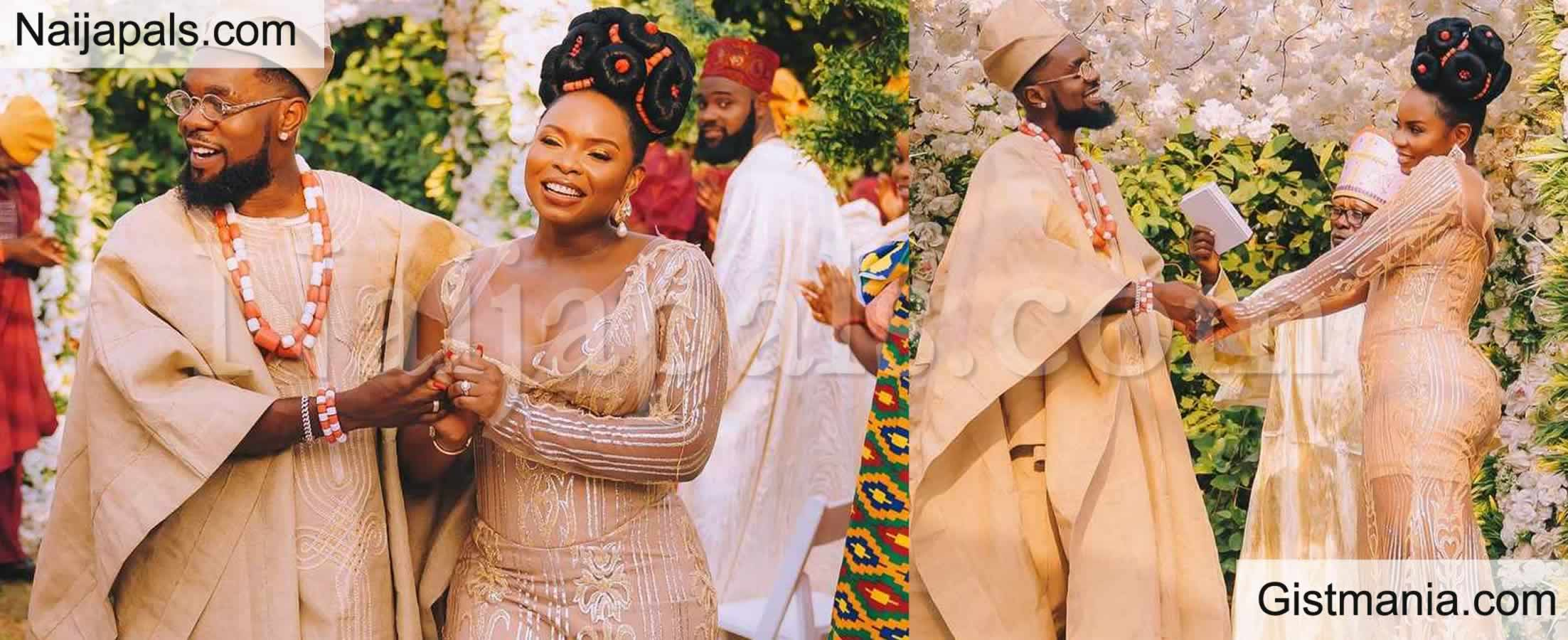 <img alt='.' class='lazyload' data-src='https://img.gistmania.com/emot/comment.gif' /> <b>These Wedding Photos Of Nigerian Singers Patoranking & Yemi Alade Spark Speculations</b>