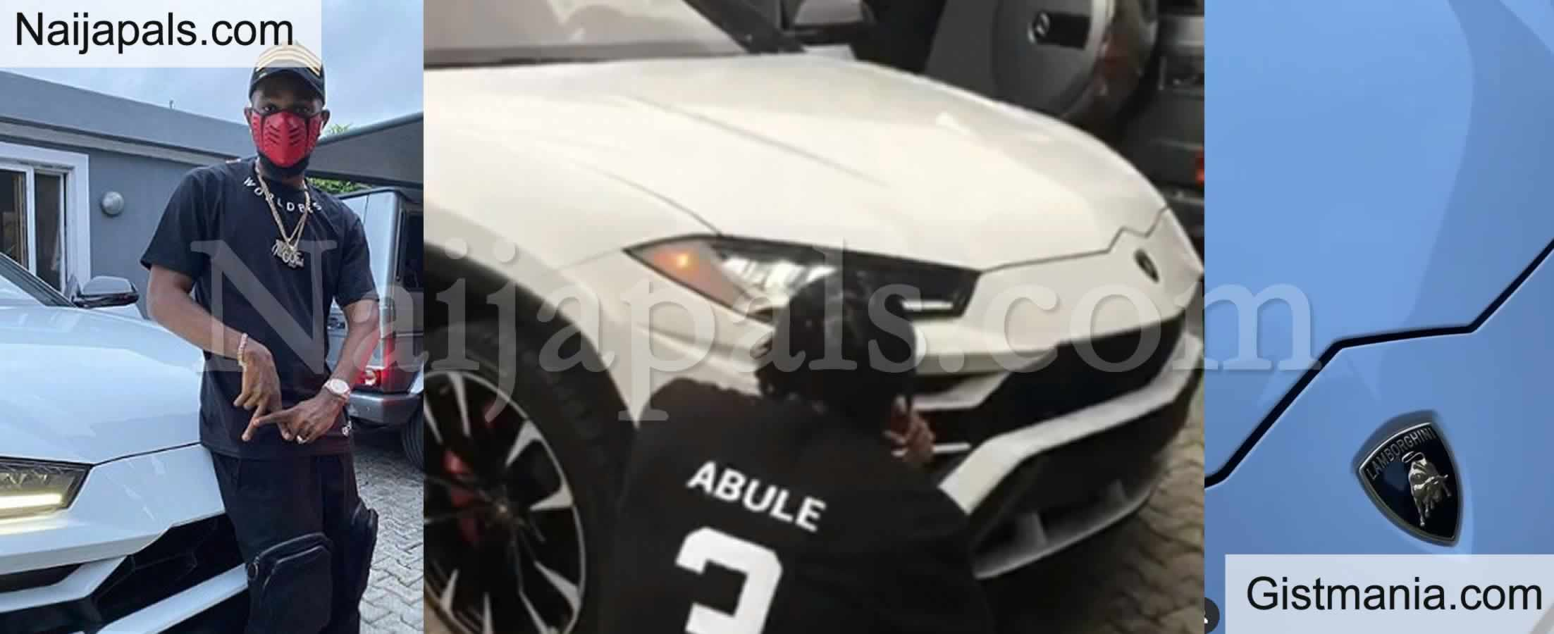 <img alt='.' class='lazyload' data-src='https://img.gistmania.com/emot/video.gif' /> VIDEO: <b>Patoranking Shows Off The Latest Whip in His Garage, a $222,000 Lamborghini Urus 2020</b>