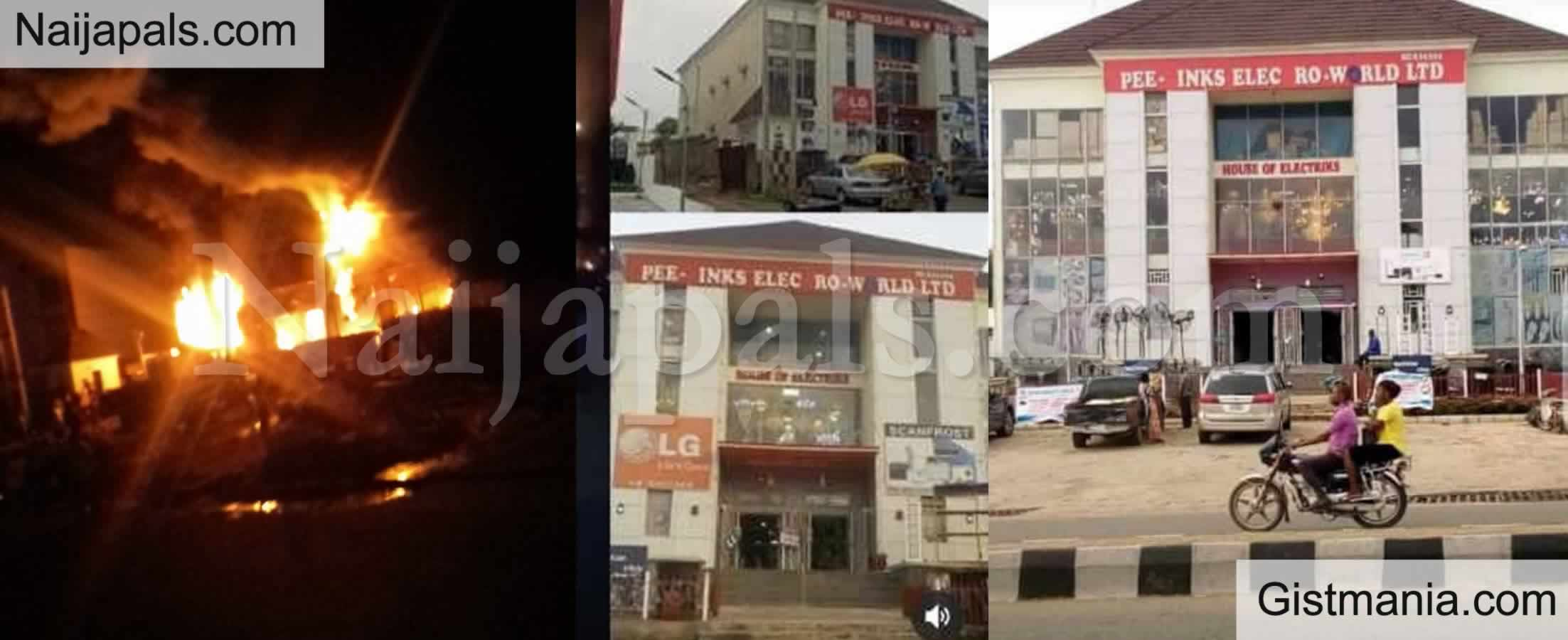 <img alt='.' class='lazyload' data-src='https://img.gistmania.com/emot/photo.png' /> <b>PeeLinks Electronic Shop Razed To The Ground With Investor Losing Over N5 Billion Naira</b>