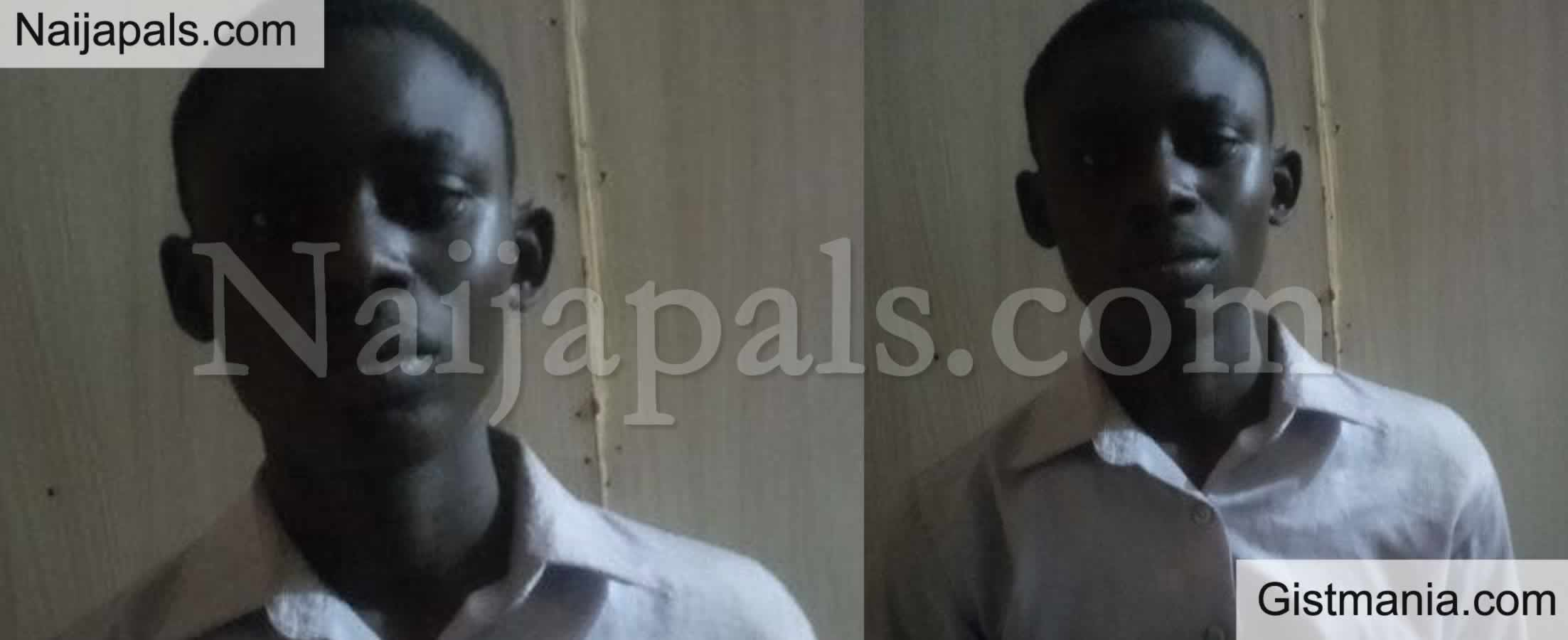 <img alt='.' class='lazyload' data-src='https://img.gistmania.com/emot/smh.gif' /> <b>Face of 17yr Old Pelumi Oloyede-Bello Who Drugged & Defiled A Girl in Lagos</b>