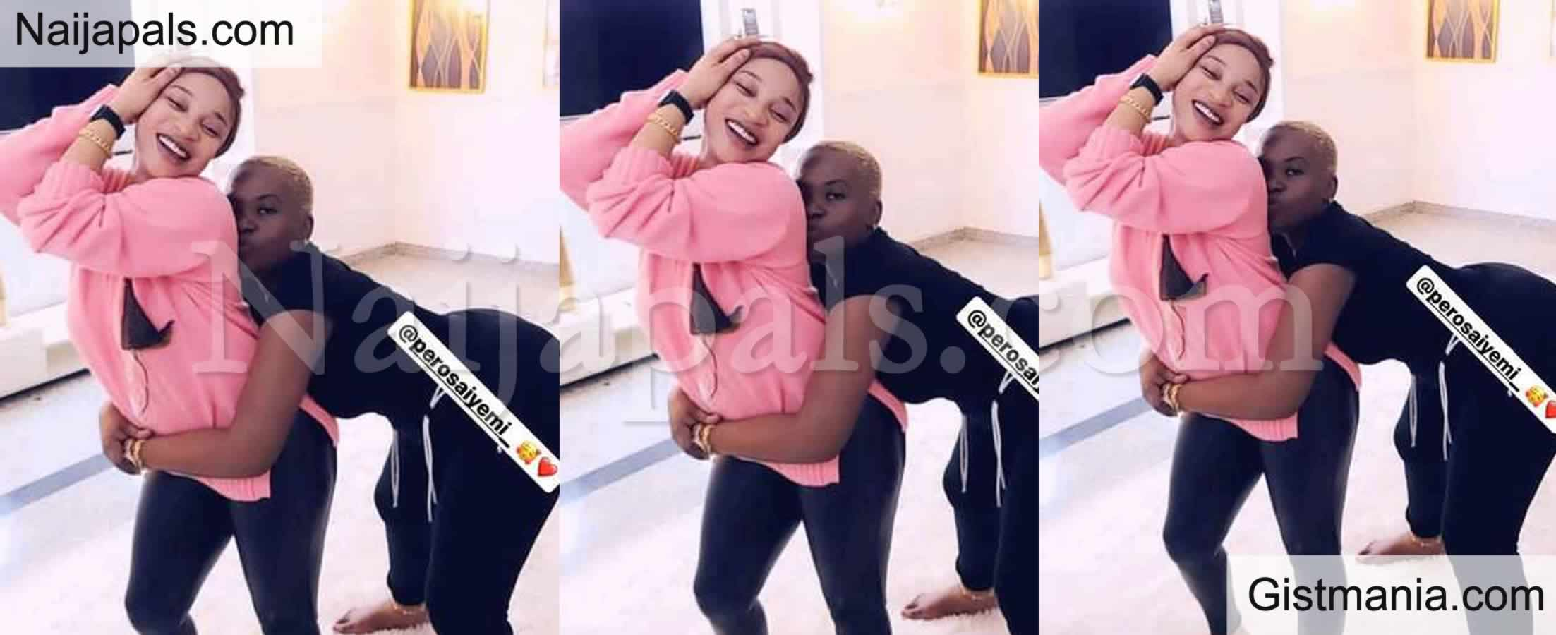 <img alt='.' class='lazyload' data-src='https://img.gistmania.com/emot/photo.png' /><b> 2Face Idibia's Babymama, Pero Pictured With Actress, Tonto Dikeh In Abuja</b>