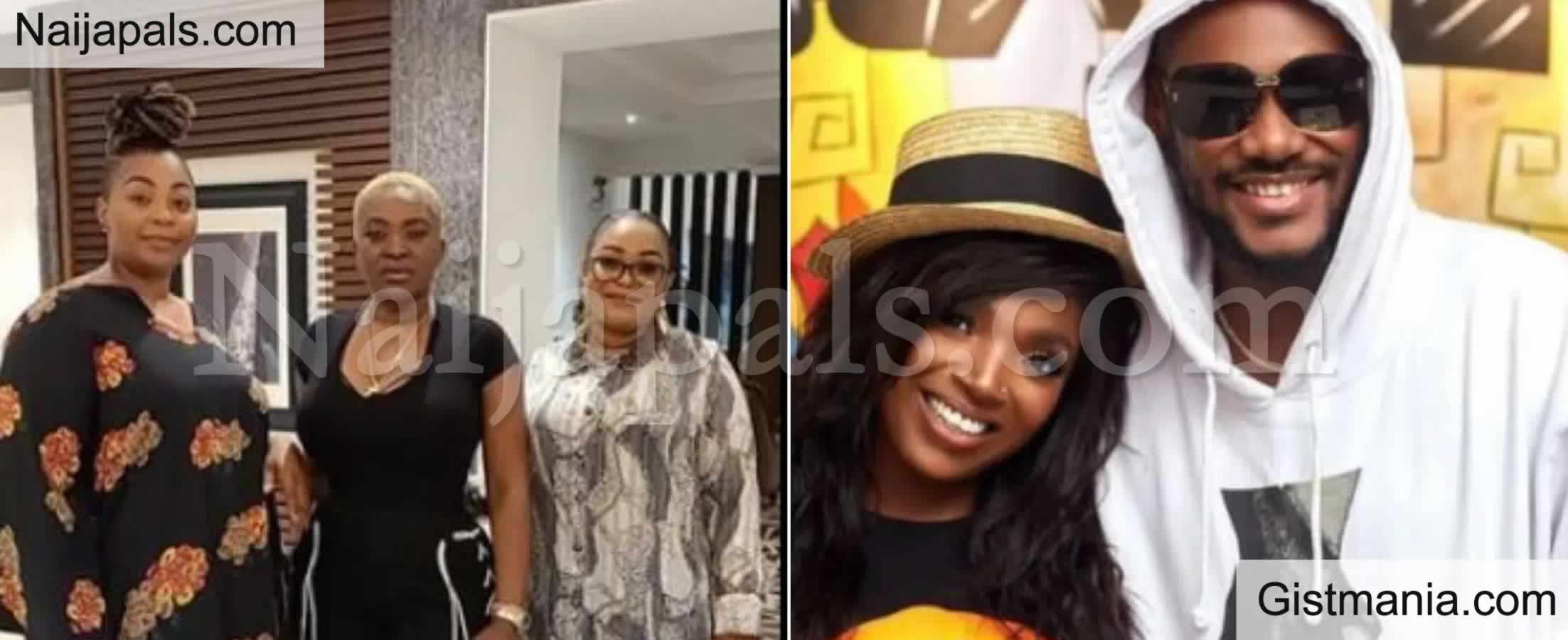 <img alt='.' class='lazyload' data-src='https://img.gistmania.com/emot/comment.gif' /> <b>Reactions As Tuface's Sisters Snub Annie Idibia to Link up With Pero on Her Arrival in Nigeria</b>
