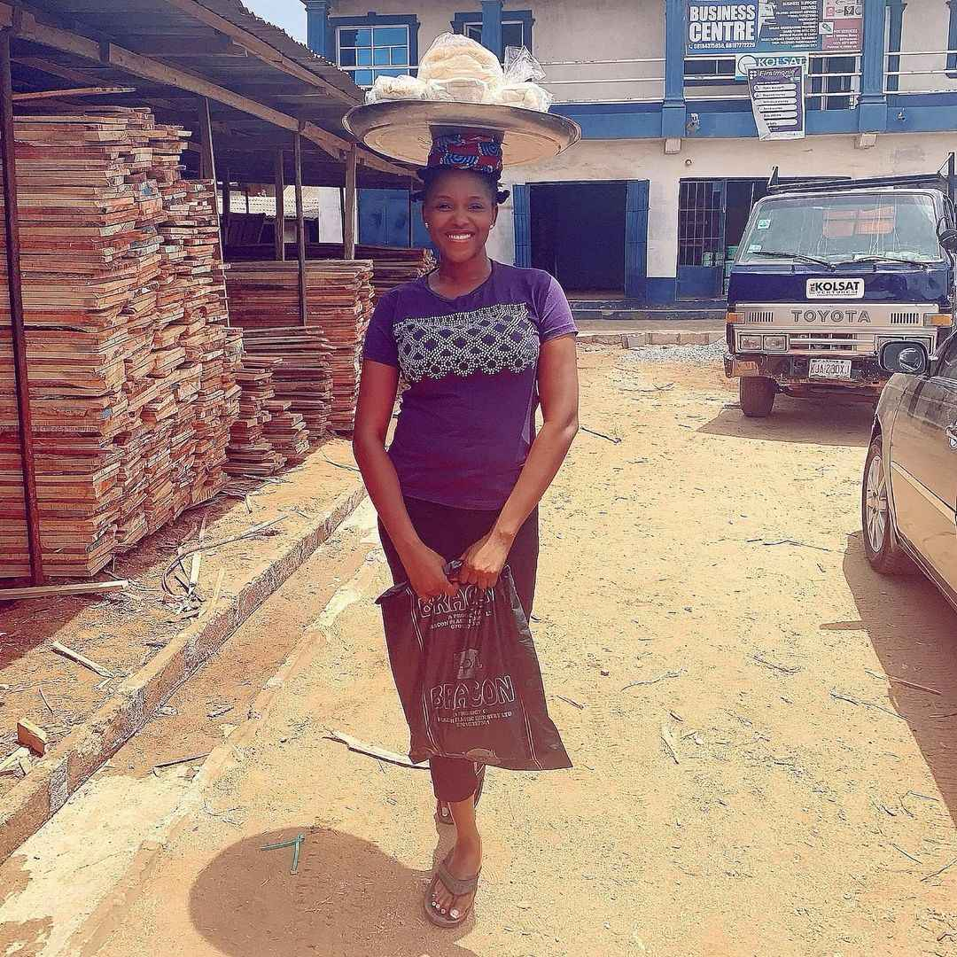 I Once Hawked Bread To Raise Money For My School Fees - Actress, Abiola  Adebayo Reveals - Gistmania