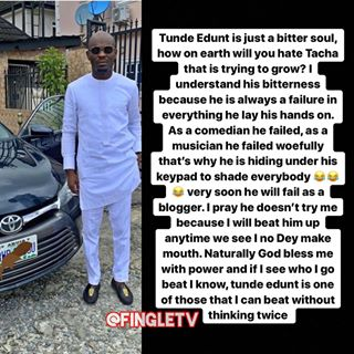 You Are Also A Failure Lady Slams Comedian Mr Jollof For Tongue Lashing Tunde Ednut Gistmania .music video || mixtape || movies || highlights || gist || news || lyrics || sport news || comedy. tongue lashing tunde ednut