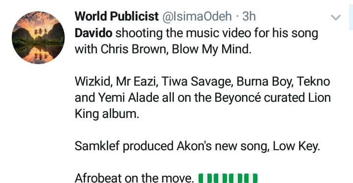Photos: Nigerians React To Davido's Exclusion From Beyonce's