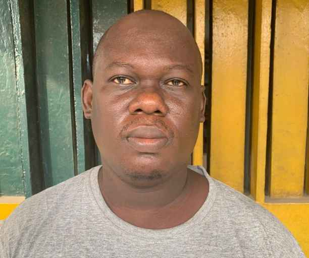 Image result for 35 Years Old Car Wash Operator, Sheriff Balogun Nab After Pushing Neighbor To Death In Lagos