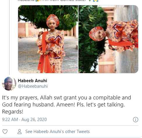 This Pretty Hausa Lady Took Her Search For Husband To Another Level on  Twitter - Gistmania