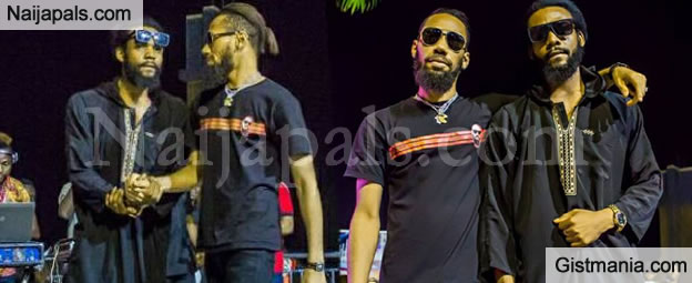 Singer, Phyno So Dazed As He Meets His Lookalike Who Is Also A