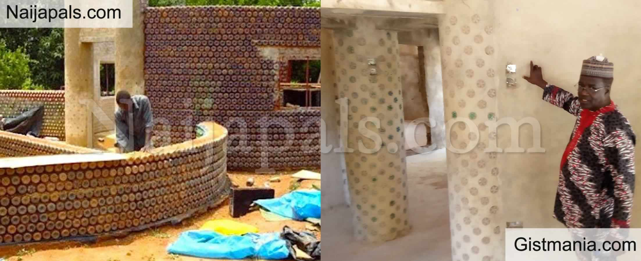 <img alt='.' class='lazyload' data-src='https://img.gistmania.com/emot/thumbs_up.gif' /> <b>Checkout The Exotic House Man Built With Plastic Bottles From Start to Finish in Kaduna</b> (PICS)