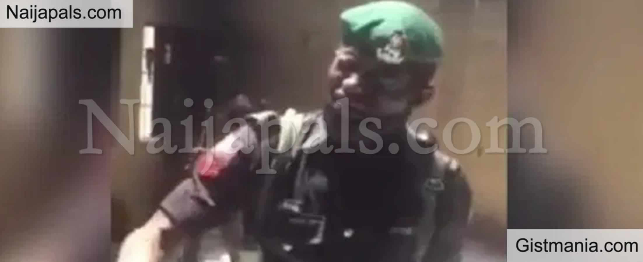 <img alt='.' class='lazyload' data-src='https://img.gistmania.com/emot/cry.gif' /> Watch Video Of <b>Nigerian Policeman Moved To Tears, Complaining Bitterly Over Working Conditions</b>