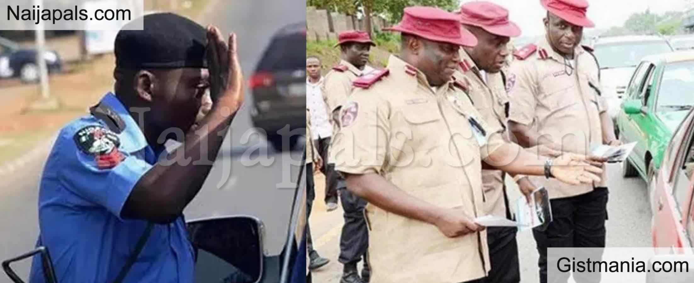 <img alt='.' class='lazyload' data-src='https://img.gistmania.com/emot/comment.gif' /><b> Stop Offering Us Bribes - Police And FRSC Tell Nigerians</b>